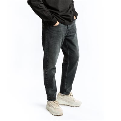 Relaxed fit | Jeans | Svart